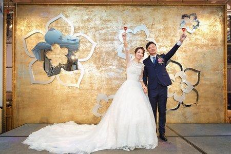 [婚攝] 奇琳 & 張酈 新店頤品飯店(北新館) | 晚宴宴客| 婚禮紀錄