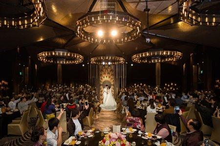 [婚禮攝影] 晶綺盛宴黃金廳   晚宴宴客精華
