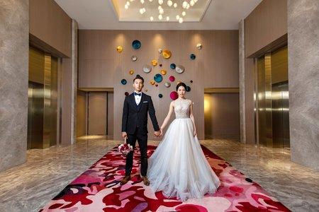 台北婚攝|格萊天漾大飯店|逆天顏值組合新人!!