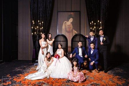 高雄晶綺盛宴婚禮紀錄|女孩兒結婚的夢幻神等級婚禮場地。|黃金廳