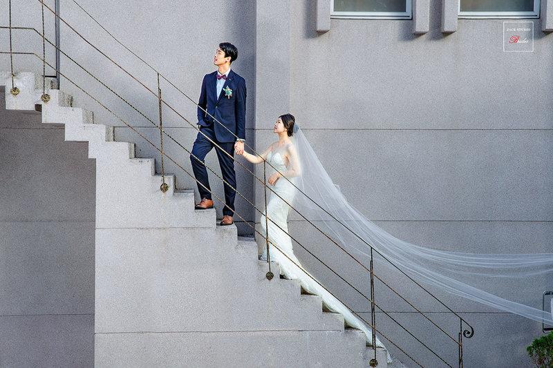與神隊友一起完成的的夢幻婚禮。