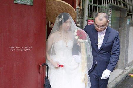 台北婚攝--小夫妻婚攝 訂結同天 台北花卉村