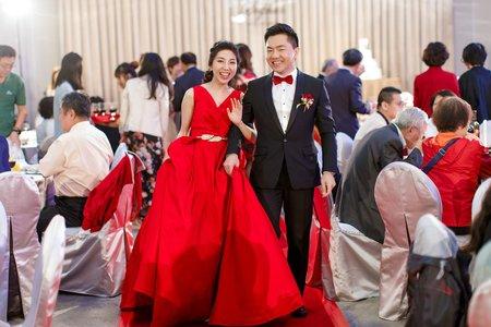 婚禮紀錄 歸寧晚宴@Mega50