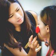 廖卉米妝髮造型 噴槍彩新娘秘書 整體造型!