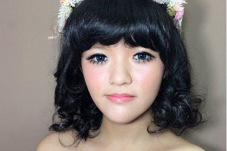 新娘單彩妝造型服務