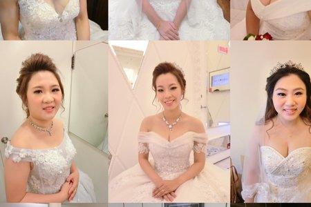 結婚或訂結婚4造型新娘秘書跟場服務