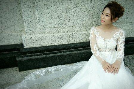 韓系包頭佐裸紗大美背