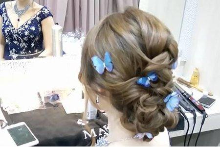 韓系拉絲編髮
