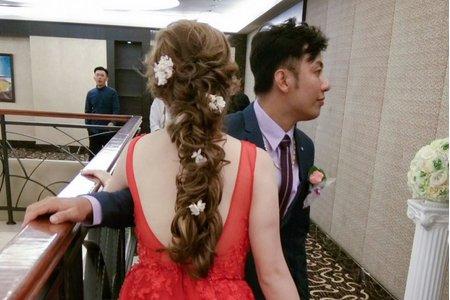 短髮新娘-無縫接髮