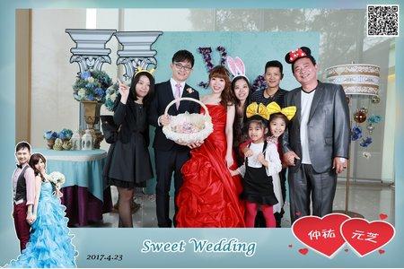 台中心之芳庭婚禮賓客活動快拍