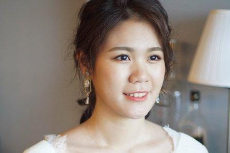 婚紗白紗造型