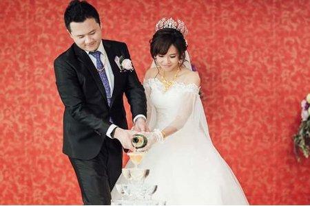 書婷公主結婚3造型