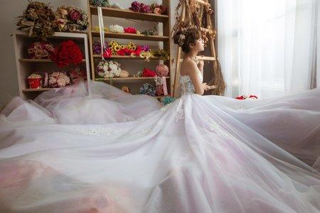 閨蜜類婚紗