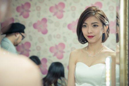 短髮新娘-簡約俐落-健康膚色