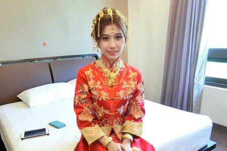 Teresa噴槍彩妝  新娘秘書  龍鳳褂 - 宜蘭晶英酒店