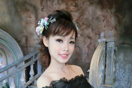 Teresa時尚新娘祕書-噴槍彩妝-白紗造型 & 甜蜜公主