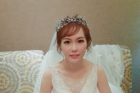 TERESA 新娘祕書 -噴槍底妝  婚宴現場