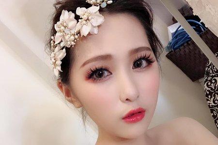 Teresa 新娘祕書 -噴槍底妝 (遮刺青).
