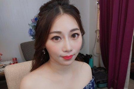 Teresa 新娘祕書 - 噴槍底妝 2019 現場婚禮造型.