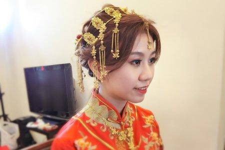Teresa噴槍彩妝 新娘秘書 -龍鳳褂 - 宜蘭晶英酒店.