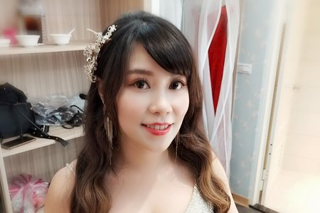 Teresa 新娘祕書- 噴槍底妝2019 現場婚禮造型.