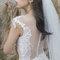 韓系優雅白紗造型
