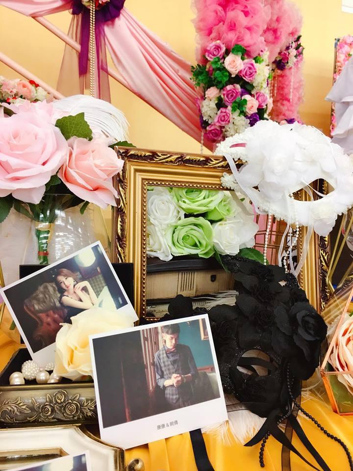 美麗延續-花之面具派對-10800元起作品