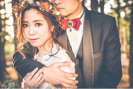 婚紗攝影|森林|個性|婚紗照