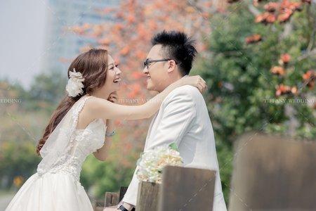 婚紗照|東海大學|清新自然互動