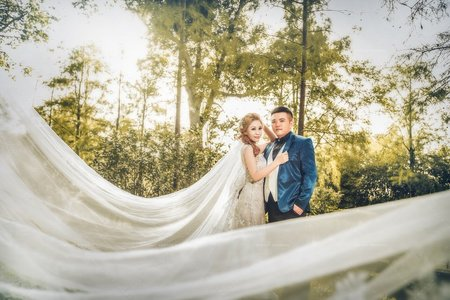 逆光森林 帝芬妮婚紗
