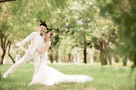 帝芬妮婚紗 互動式攝影