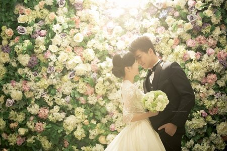 最新韓風婚紗照