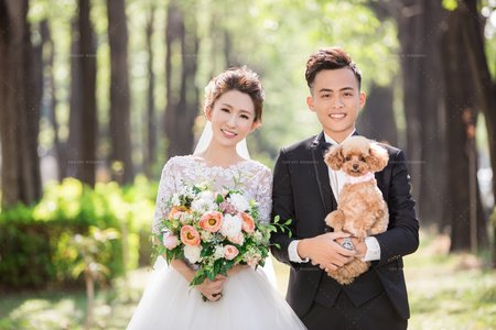 毛小孩 寵物婚紗攝影