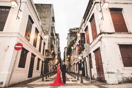 澳門海外婚紗攝影 海外旅拍 台中帝芬妮婚紗