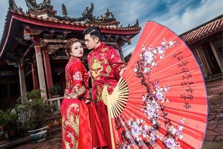 中國風婚紗