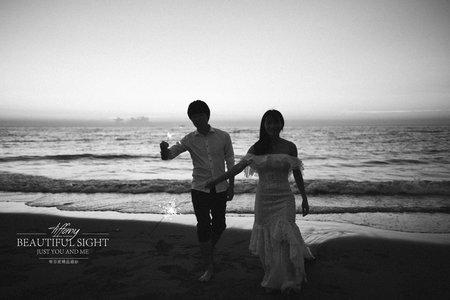 田園 海邊 婚紗