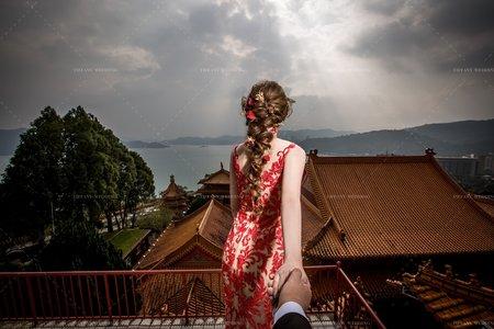 中式婚紗|力戈&俊杰