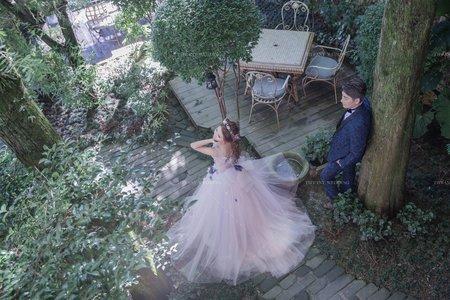 繡球花季|婚紗攝影|清境婚紗