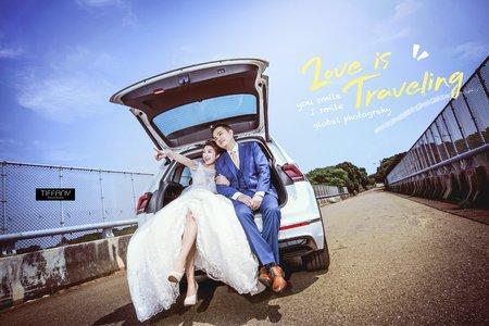 街頭婚紗|雜誌封面
