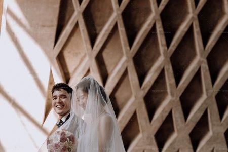 路思義教堂婚禮|婚禮紀錄