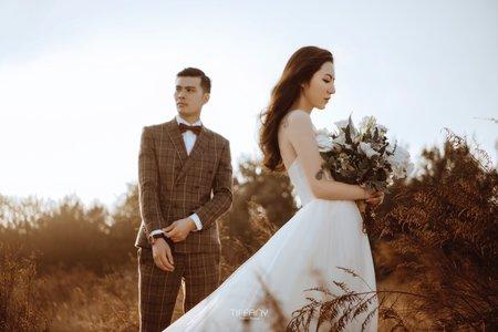 森系婚紗照