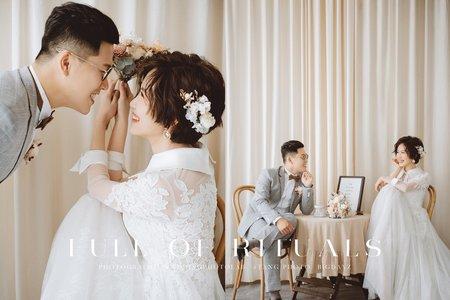 【最新風格】儀式感婚紗