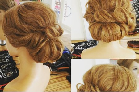 髮型創作造型