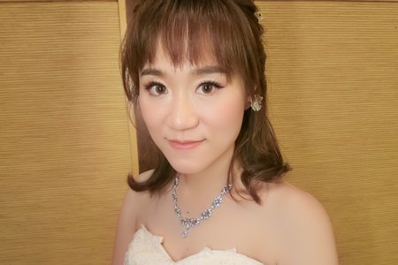 雅茜結婚造型