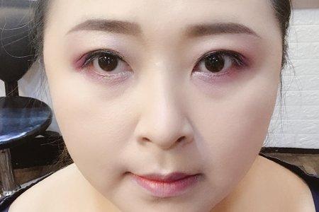 夏戀紫透亮妝