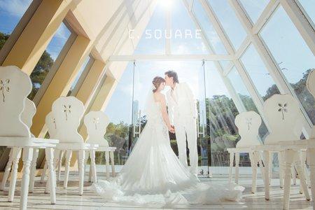 C.Square 囍事閣樓婚紗包套專案
