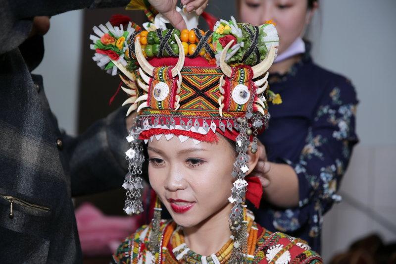 原住民魯凱族新娘