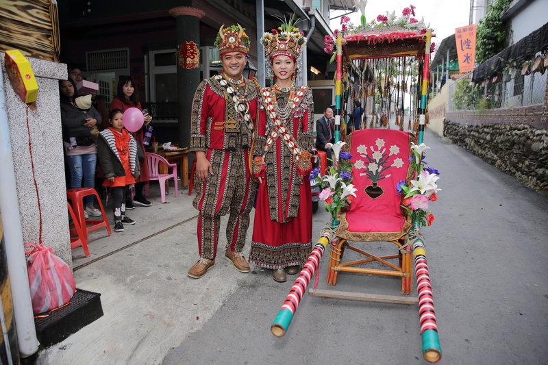 原住民魯凱族搶婚儀式