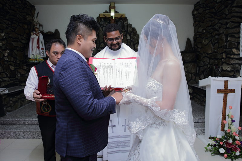 新娘念證婚文並說【我願意】
