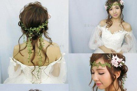 ●(單妝)到府新娘妝髮